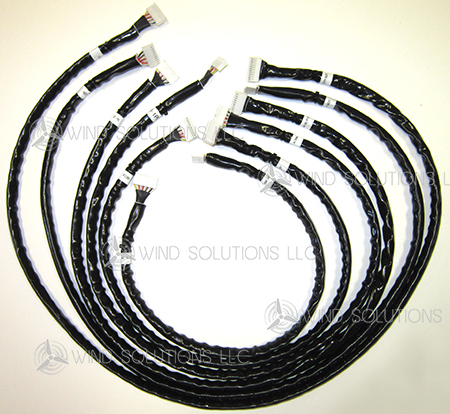 WS20008 - 10-Pin Six Cable Harness Kit, Includes WS20008A-F Image