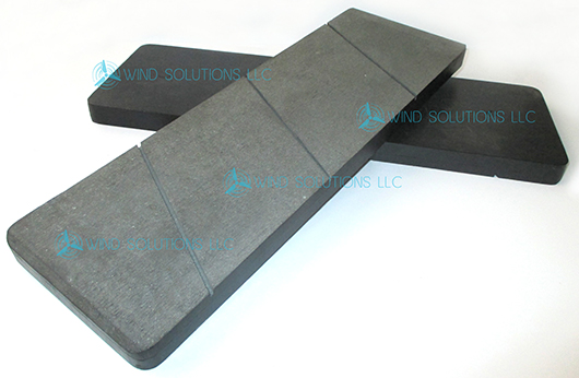 WS30079 - Oil Resistant Organic Brake Pad for Clipper Yaw Brake Image