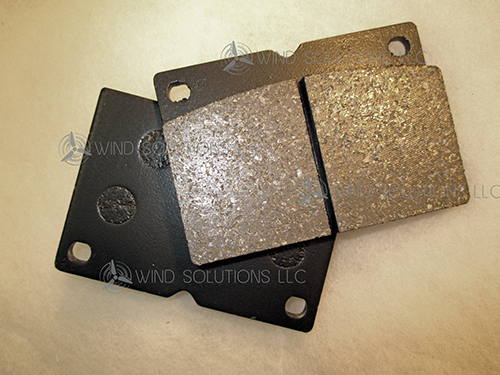 WS40045A - Replacement Brake Pad Set For Brembo Caliper (Two Pads) Image
