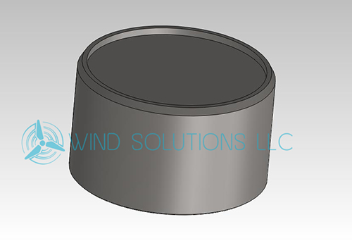 WS40100 - Piston for BSAK-3000 Caliper Image