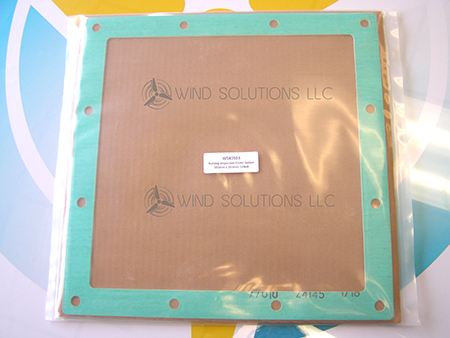 WS40103 - Nanjing Gearbox Inspection Cover Gasket 393mm x 393mm 12 Bolt Image